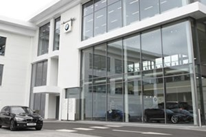 BMW Reading <p>Building type: commercial / Systems: new networked analogue addressable fire alarm & refuge incorporating toilet alarm systems</p>