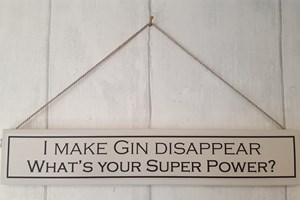 I make Gin disappear...