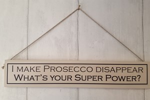 I make Prosecco disappear...