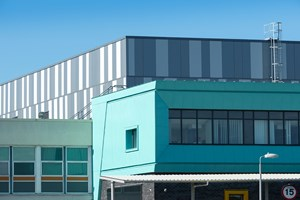 A&E Aintree Hospital, Liverpool. Composite Panels were used in the extension built on to this existing building.