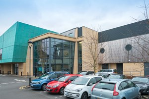 Harborne Swimming Baths: Cedar Cladding to the Soffit area