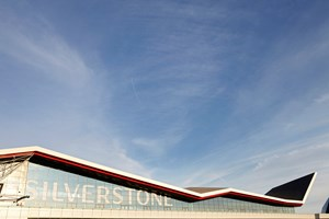Silverstone Race Track, Image of the Bullnoses and Soffits.