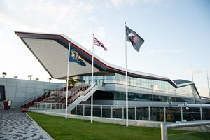 Bullnoses and Soffit, (Image Detail), Silverstone Race Track.