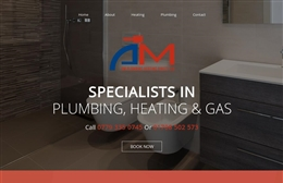 AM Plumbing Heating Direct Limited - plumbing website design by Toolkit Websites, professional web designers