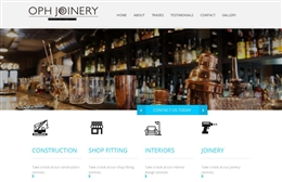 OPH Joinery - website design by Toolkit Websites, Southampton