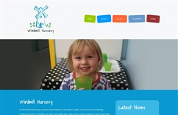 Nursery web design by Toolkit Websites