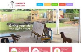 Shotley Kid Zone - Nursery website design by Toolkit Websites, professional web designers