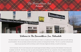 Bannockburn Inn - bed and breakfast website design by Toolkit Websites, professional web designers