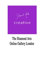 Exhibition area at Diamond Art Gallery