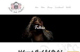 Frash Ink Studio 1 - website design by Toolkit Websites, professional web designers