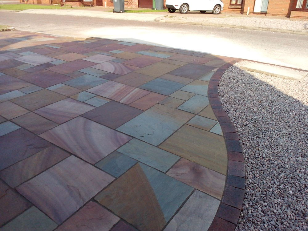 Indian Stone Flags >> Greenacres Landscapes : quality driveways and patios ...