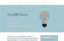 Recruitment website design by Toolkit Websites, Southampton