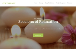 JTN Therapy - massage design by Toolkit Websites, Southampton
