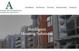 Antennae Property Developments - Property website design by Toolkit Websites, Southampton