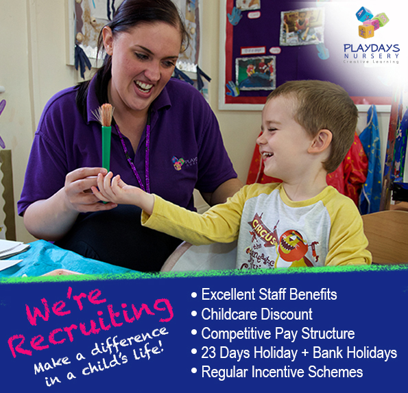 Nursery Staff in South Woodford and Farnborough
