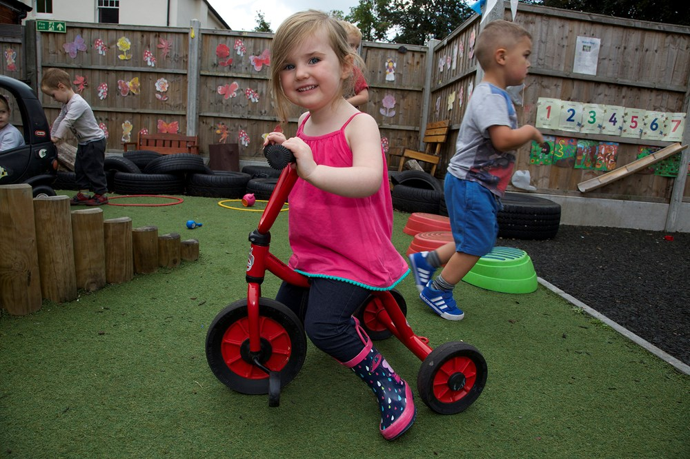 Playdays Nursery in Farnborough and South Woodford
