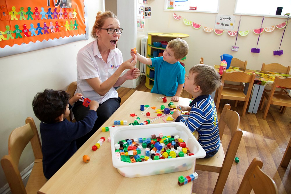 Children nursery in South Woodford and Farnborough