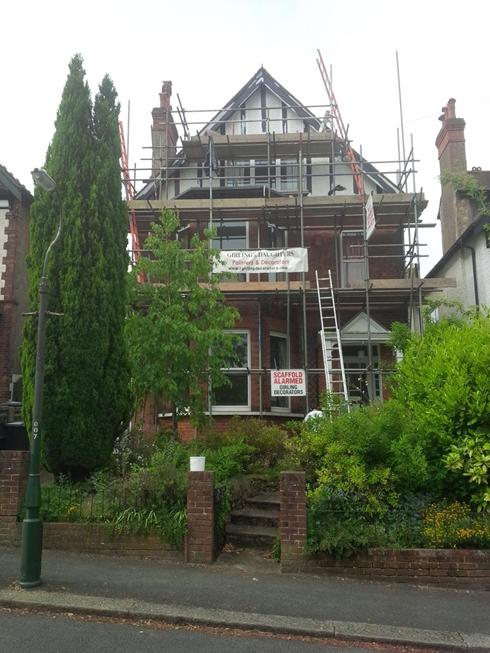 Exterior Painting.South Croydon.
