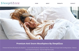 Sleep Ezzzz - 1-page website design by Toolkit Websites, Southampton