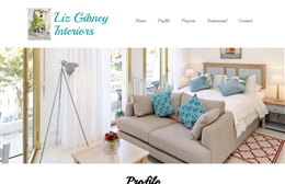 Liz Gibney - Interior Design website design by Toolkit Websites, Southampton