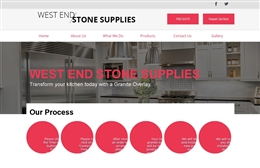 West end Stone Supplies - website design by Toolkit Websites, Southampton