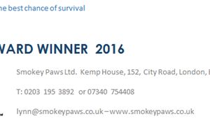 Smokey Paws charity provide life saving oxygen masks for animals caught in residential and domestic fires.