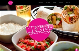 Mexigo - 1-page website design by Toolkit Websites, Southampton