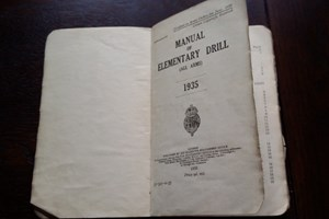 MANUAL OF ELEMENTARY DRILL (ALL ARMS) 1935