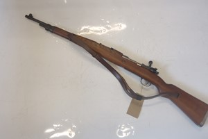 L3205 Yugoslavian Mauser M48 •Yugoslavian Mauser Model 48 in 8x57 calibre dated just post World War Two •In good condition but with miss-matched numbers and reproduction sling  •Good barrel, wood and metalwork £450.00 Please note that a firearms licence is required to purchase this rifle Collection by appointment or dispatch to UK Mainland Registered Firearms Dealer £25.00
