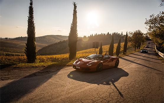 Italian Journeys Experience Designers Ferrari Tour Tuscany