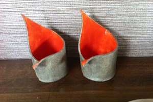 Spike candle holders, £20 pair. Available in other colours<br/> <a class='button' target='blank' href='https://www.paypal.com/cgi-bin/webscr?cmd=_s-xclick&hosted_button_id=HAUFACQ9FAKBU'>Buy now</a>