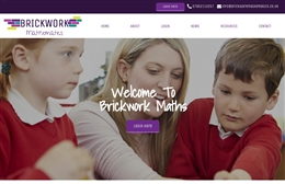 Brickwork Maths - Tutoring website design by Toolkit Websites, professional web designers