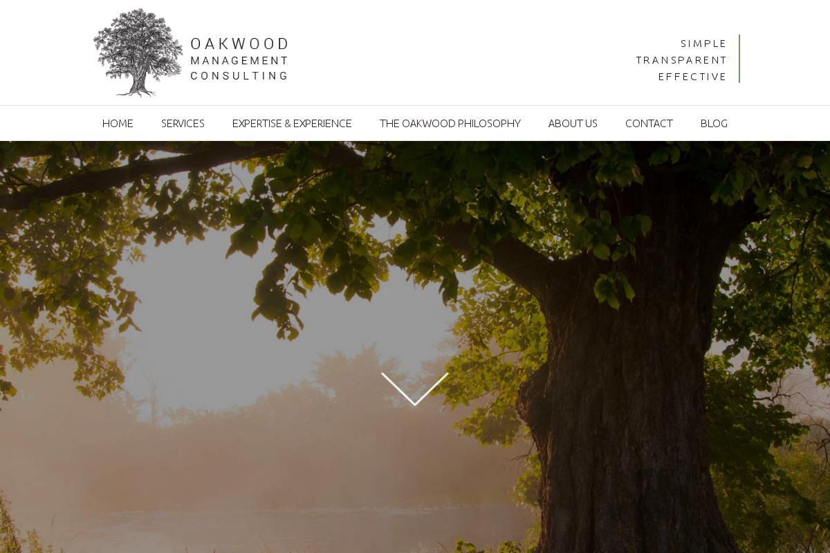 The oakwood philosophy oakwood management consulting for The oakwood