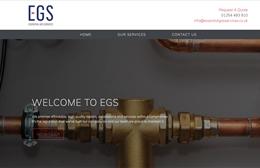 EGS - Gas Engineer Web Design by Toolkit Websites