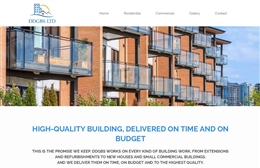 DDBGS Ltd - Building website design by Toolkit Websites, Southampton