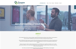 Taylor Made Physio - website design by Toolkit Websites, professional web designers