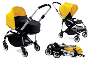 <h2>Bugaboo Bee3<br/></h2><p><span>Description:</span><br/>Choice of Aluminium Or Black, Chassis 8 Tailored Fabric Colour Packs To Choose From</p><p><span>Colours:</span><br/>Off White, Dark Khaki, Grey Melange, Black, Ice Blue, Soft Pink, Red, Bright Yellow</p><p><span>Price:</span><br/>£539 (Aluminium)<br/>£589 (Black Chassis)<br/>£200 (BEE3 Carrycot Extra)</p>