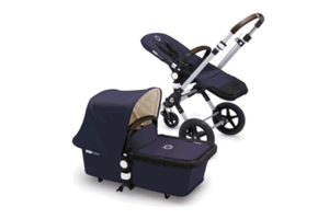 <h2>Bugaboo Cameleon3<br/></h2><p><span>Description:</span><br/>Classic Collection, Leather-Look Handlebar and Carry Handle, Cosy Interior With Off White Fleece Quilted Linning</p><p><span>Colours:</span><br/>Grey Melange, Sand, Navy Blue</p><p><span>Price:</span><br/>£949 (Aluminium Chassis)</p>