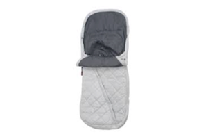 <h2>Ganoosh Footmuff<br/></h2><p><span>Colours:</span><br/>Mica Grey</p><p><span>Price:</span><br/>£115</p>