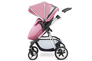 <h2>Pioneer</h2><p><span>Description:</span><br/>Two Chassis Options Chrome & Graphite Seat Unit, Carrycot, Cup Holder, Rain Cover, Adapters</p><p><span>Colours:</span><br/>Vintage Pink, Blue, Red, Black, Sand, Silver, Sky Blue</p><p><span>Price:</span><br/>£745</p>