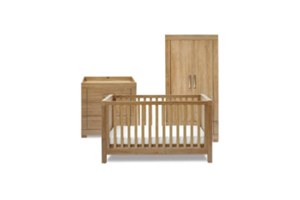 <h2>Portobello<br/></h2><p><span>Description:</span><br/>Cot Bed, Double Wardrobe, Dresser</p><p><span>Colours:</span><br/>Warm Oak</p><p><span>Price:</span><br/>Cot Bed (£249) Double Wardrobe (£350) Dresser (£300) </p>