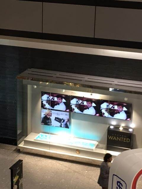 Azzaro T5 Display