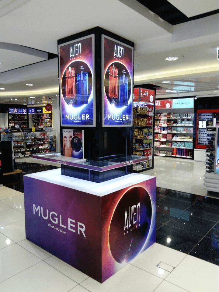 Mugler Alien Fusion Display