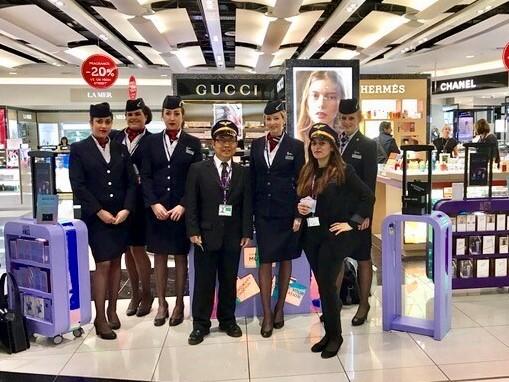 Gucci British Airways Crew
