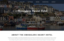 The Smugglers Haunt Hotel - Hotel website design by Toolkit Websites, professional web designers