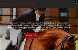 PP Equestrian - Equestrian website design by Toolkit Websites, Southampton