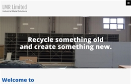 London Metal Recycling web design case study