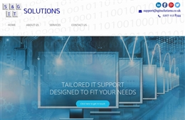 SG IT Solutions - IT website design by Toolkit Websites, professional web designers