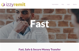 Easyremit Ltd - 1-page website design by Toolkit Websites, Southampton