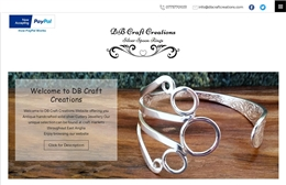 DB Craft Creations - Streetwear website design by Toolkit Websites, Southampton